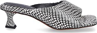 Proenza Schouler Sandalen PS342 Nappaleder beige schwarz