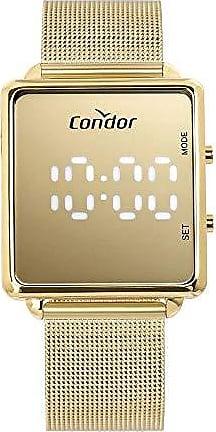 Condor Relógio Condor Feminino Led Dourado COBJ3382AA4D