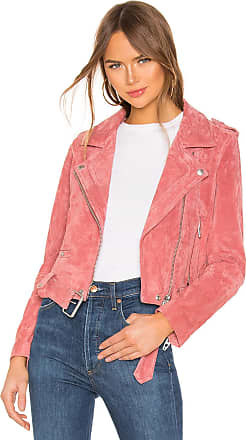 Blank NYC Suede Moto in Coral