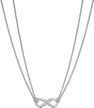 Tiffany & Co. Tiffany Infinity Anhänger in Sterlingsilber - Size 18 in