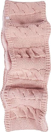Heat Holders Heat Holders - Ladies Winter Soft Fleece Lined Cable Knit Thermal Snood Infinity Scarf (One Size, Coral (Infinity))