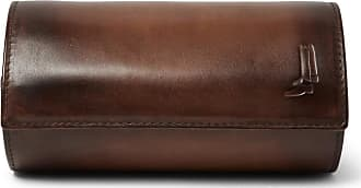 Berluti Leather Watch Roll - Brown