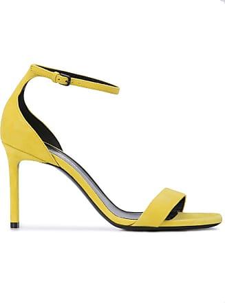 94ce58f15d Saint Laurent Sandália de salto alto Amber - Amarelo