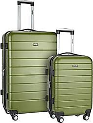 Wrangler 3-Piece Hardside Luggage Set - Olive