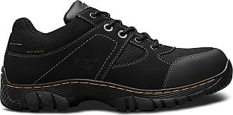 Dr. Martens Gunaldo Man Woman Safety Trainers Size 3-13 (6) Black