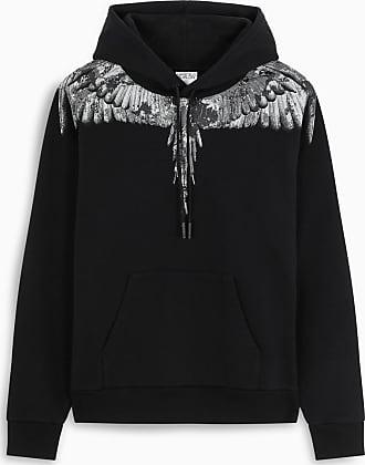 Marcelo Burlon Black Camou Wings hoodie