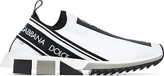 Dolce & Gabbana Tênis Sorrento de tricô - Branco
