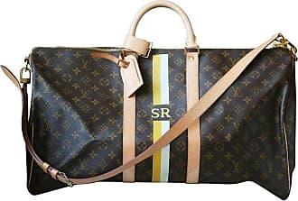 e382fa21fb000 Louis Vuitton Personalised Keepall 55 Mon Monogram Travel Bag