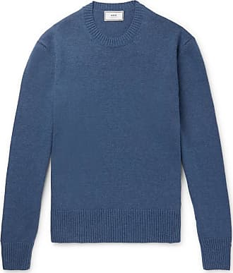 Ami Knitted Sweater - Blue