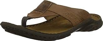 Josef Seibel Mens Logan 62 Flip Flops, Brown (Nuss 340), 6.5 UK