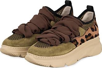 181 Plateau-Sneaker ANET - OLIV/ KHAKI