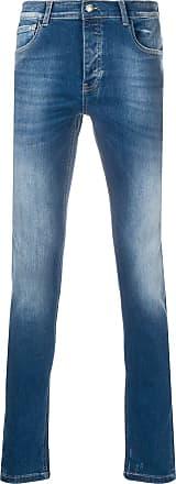 Frankie Morello Calça jeans com efeito lavagem - Azul