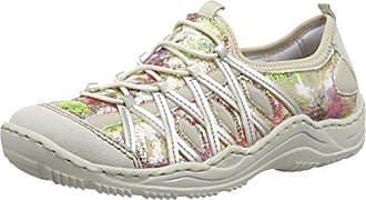 Rieker Damen M5335 Women Low Top Sneaker Beige (Champignon