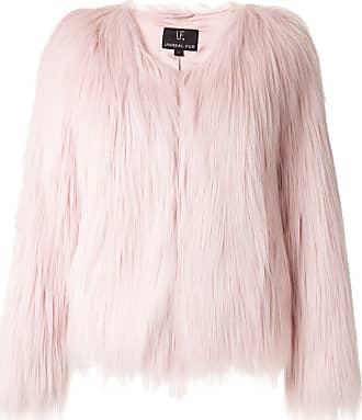 Unreal Fur faux fur short jacket - PINK