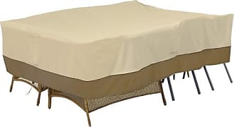 Classic Accessories Veranda Conversation Set/Furniture Group Cover - Pebble