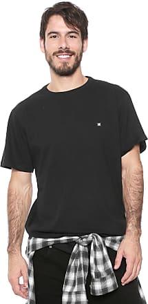 DC Camiseta DC Shoes Scallop Preta