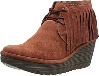FLY London Womens YANK774FLY Moccasin, Brick Oil Suede, 36 M EU (5.5-6 US)