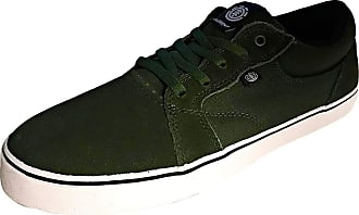 Element Wasso Mens Skate Trainers in Green White - 8 UK