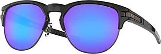 Oakley Mens Latch Key Round Sunglasses, Polished Black, 52.0 mm