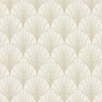 York Wallcoverings Tapete Scalloped Pearls