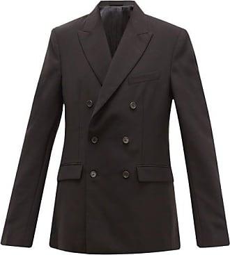 Wardrobe.NYC Wardrobe.nyc - Release 04 Double-breasted Merino Wool Blazer - Womens - Black