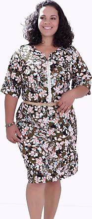 Vickttoria Vick Vestido Sissy Estampado Plus Size (54)
