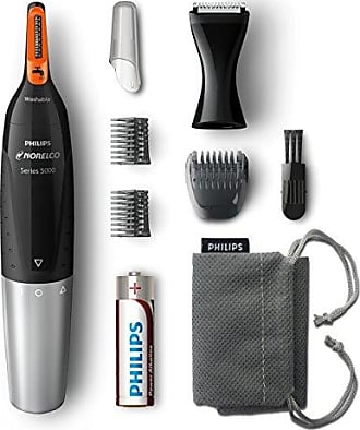 Philips Nose Hair Trimmer 5100, NT5175/42, Washable Mens Precision Groomer for Nose, Ears, Eyebrows, Neck, and Sideburns