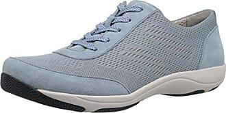 Dansko Womens Hayes Sneaker, Light Blue Suede, 38 M EU (7.5-8 US)