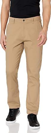 Rip Curl Mens Searchers Straight Fit Pants Casual, Khaki, 32