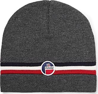 Fusalp + Woolmark Wengen Ii Logo-appliquéd Ribbed Merino Wool Beanie - Dark gray