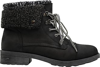 White Mountain Womens Sandro Leather Closed Toe Ankle Fashion, Black, Size 6.5 US / 4.5 UK US