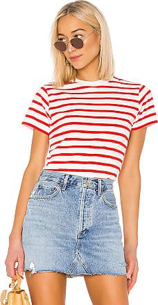 Hanes x Karla The Stripe Crew in Red