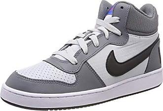 new styles 11736 b583b Nike Mädchen Court Borough Mid (Gs) Basketballschuhe Grau (Cool  Grey Anthracite
