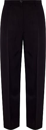 Jil Sander Pleat-front Trousers Womens Black