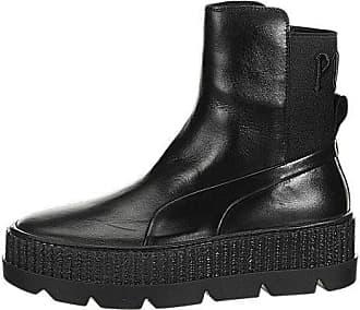 255b93cde318e1 Puma Womens Fenty x Chelsea Sneaker Boots