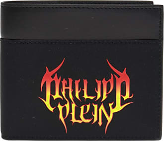 Philipp Plein Wallet With Logo Mens Black