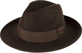 Hat To Socks Elegant Brown Wool Fedora Hat Waterproof & Crushable Handmade in Italy