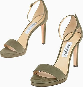 Jimmy Choo London Sandali MISTY 100 in Suede 10 cm taglia 39