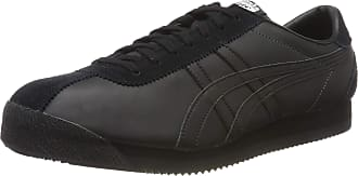 Onitsuka Tiger Unisex Adults Corsair Low-Top Sneakers, Black (Black D7j4l-9090), 11 UK