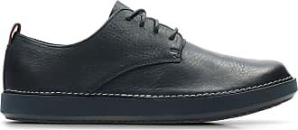 Clarks Mens Shoe Navy Leather Clarks Komuter Walk Size 10.5