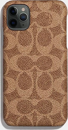 Coach Iphone 11 Pro Case In Signature Canvas in Beige - Size ONE