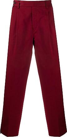 Missoni Calça de alfaiataria pantalona - Vermelho