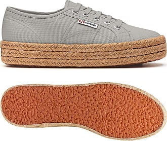 Superga 2730-cotropew Womens Sports Shoes Grey Size: 7 UK
