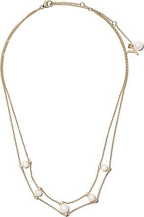 Yoko London 18kt yellow gold Trend freshwater pearl and diamond choker necklace