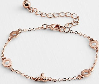 Ted Baker Bumble Bee Bracelet in Rose Gold BEDDIA, Womens Accessories