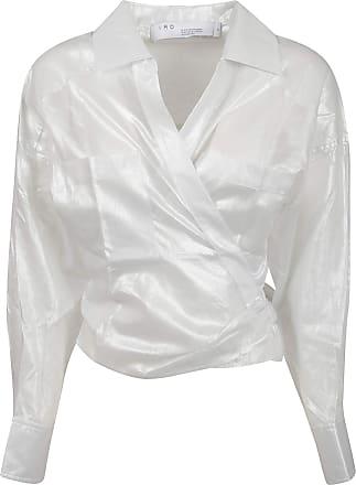 Iro Fashion Woman WP16ANATYEWHI01 White Metallic Fibers Blouse | Spring Summer 20
