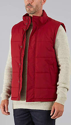 Farah Mens Colton Outdoor Gilet, Red (Burgandy), Large
