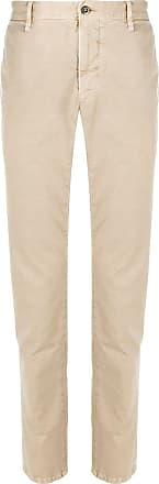 Incotex slim-fit trousers - NEUTRALS