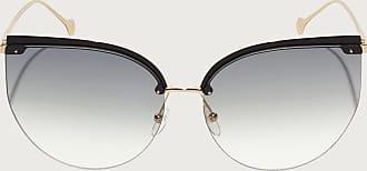 Salvatore Ferragamo Donna occhiali da sole Shiny Gold/grey Lens