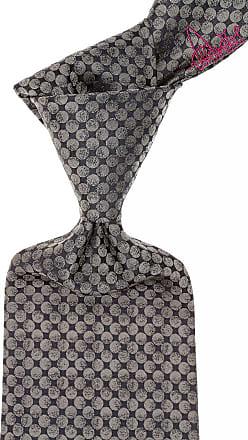 Vivienne Westwood Ties On Sale, Slate Gray, Silk, 2017, one size